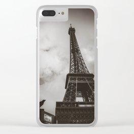 Paris shot Clear iPhone Case
