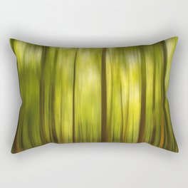 Warmth of the Forests Colors Rectangular Pillow