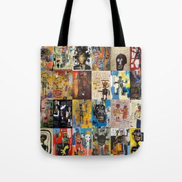 Basquiat Montage Tote Bag