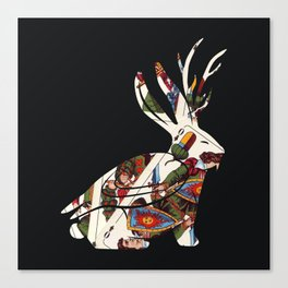 Wolpertinger Canvas Print