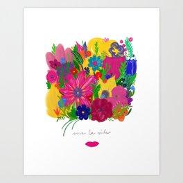 Viva La Vida Art Print