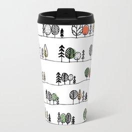 Forest Doodle Travel Mug