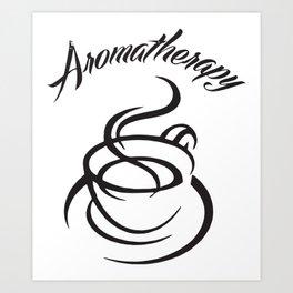 Aromatherapy Coffee Scented Women's Coffee T-Shirts Art Print