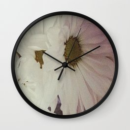 Flower print #3 Wall Clock