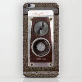 Vintage Duaflex Camera iPhone Skin