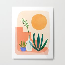 Santa Fe Summer / Abstract Landscape Metal Print