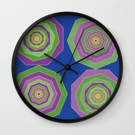 Unbalanced octagon Wall Clock