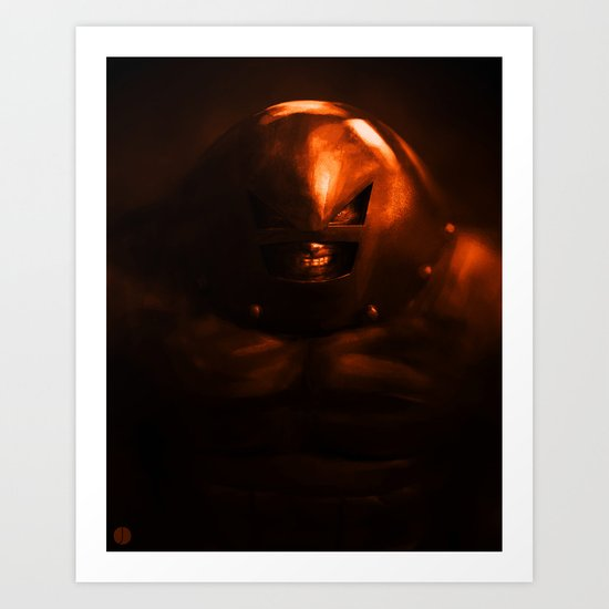 UNSTOPPABLE Art Print