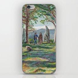 Craigh na dun (Outlander) iPhone Skin