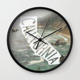 California Wall Clock