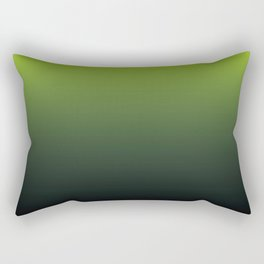 Ombre | Lime Green and Charcoal Grey Rectangular Pillow