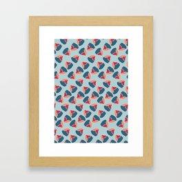 rolling robin Framed Art Print