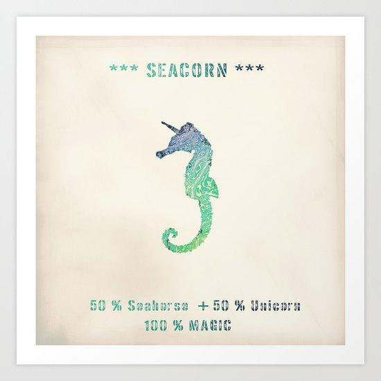 SEACORN Art Print