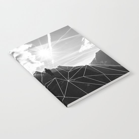 Crystal Mountain II Notebook
