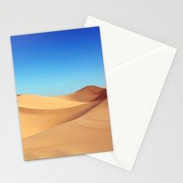 Scenic Sahara sand desert nature landscape Stationery Cards