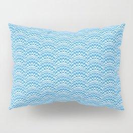 Marbling Comb - Blue Sky Pillow Sham
