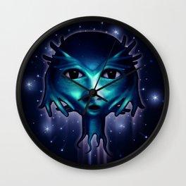 Alien Head Wall Clock