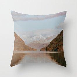 Alouette Lake Throw Pillow