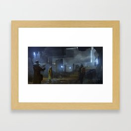 Ruin Hunters Framed Art Print