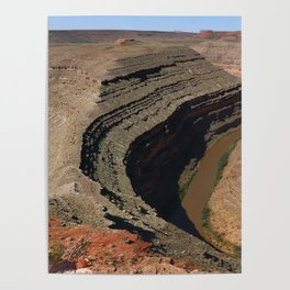 The Goosnecks - A Meander Of The San Juan River Poster
