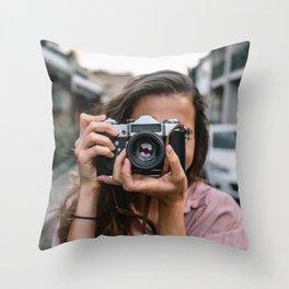 Photographie Throw Pillow
