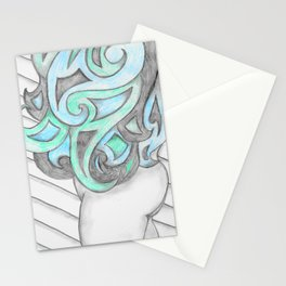 Cheeky Blues In Twos Stationery Cards