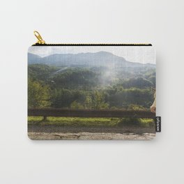 Landscape across border between Bosnia and Herzegovina and Montenegro. Carry-All Pouch