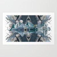 rare Art Prints featuring Polar rare by CRABFISH
