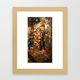WTC Patches Framed Art Print