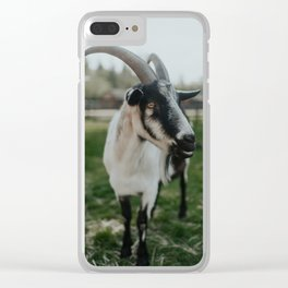 Farley I Clear iPhone Case