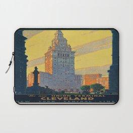 Vintage poster - Cleveland Laptop Sleeve