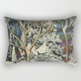 Call to the North Rectangular Pillow
