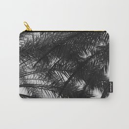Palm Tree Upshot In Noir Fine Art Photo Carry-All Pouch