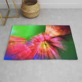 Psychedelic Poppies Rug