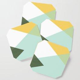 Geometrics - citrus & concrete Coaster