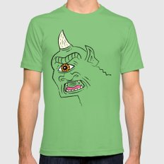 The Cyclops Mens Fitted Tee Grass LARGE