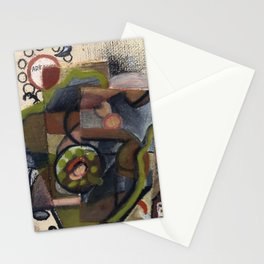 Cubist Phone Stationery Cards