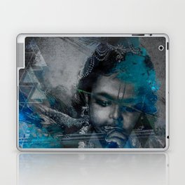 Krishna The mischievous one - The Hindu God Laptop & iPad Skin