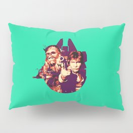 Han Solo & Chewbacca Pillow Sham