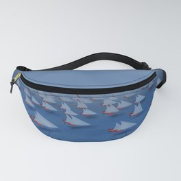 May visiting East - shoes stories Fanny Pack