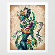 Dance of the Dead Art Print