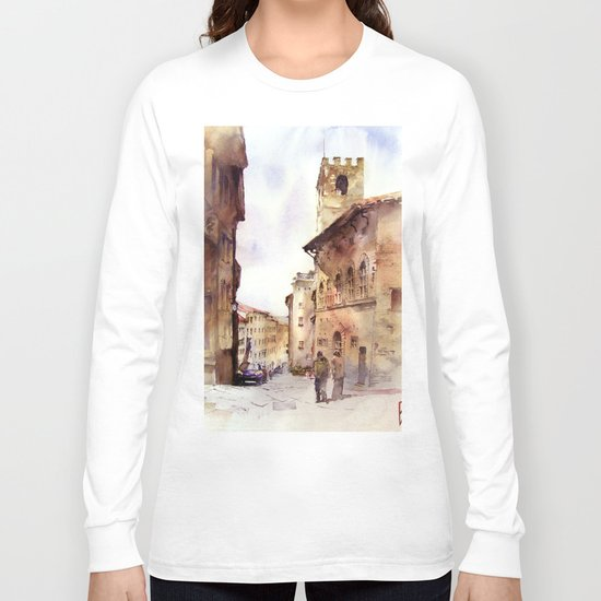 Italy oldtown Arezzo Long Sleeve T-shirt