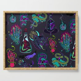 Neon Demons Serving Tray