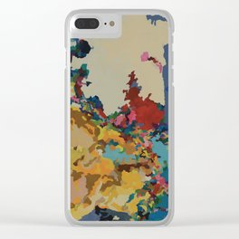 Arms Reaching Clear iPhone Case