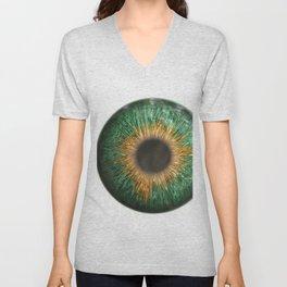 The Green Iris Unisex V-Neck