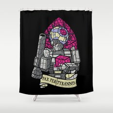 Pax Per Tyrannis Shower Curtain