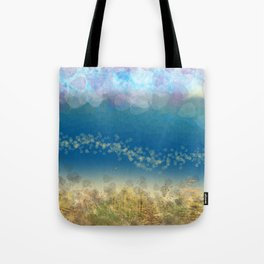 Abstract Seascape 02 wc Tote Bag