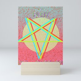 Aesthetically Satanic Mini Art Print