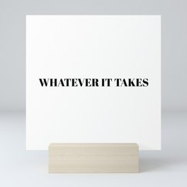 Endgame: WHATEVER IT TAKES Mini Art Print