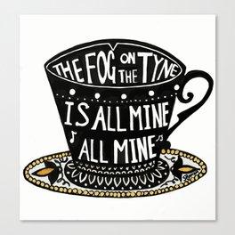 The Fog on the Tyne Tea Cup Canvas Print